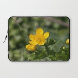 yellow flower Laptop Sleeve