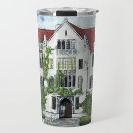 Eckhart Hall at the University of Chicago Travel Mug