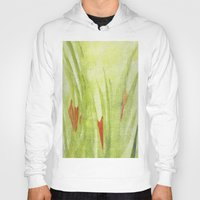 flora Hoodies featuring flora by Louisa Stickney-Keats