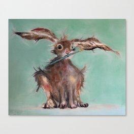 The Wild Hare Studio Helper Canvas Print