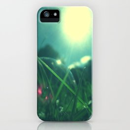 A Bubble's Perspective iPhone Case