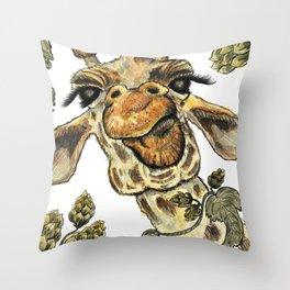 Sour Hops Throw Pillow