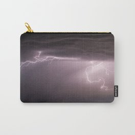 Summer Lightning Storm On The Prairie VI - Nature Landscape Carry-All Pouch