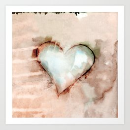 Love Unfolding No.26 by Kathy Morton Stanion Art Print