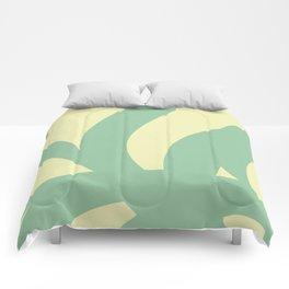 Snowflake .olive Comforters