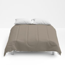 Mulch Brown English Country Wedding Comforters