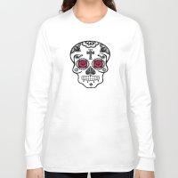 calavera Long Sleeve T-shirts featuring Calavera by SuperEdu