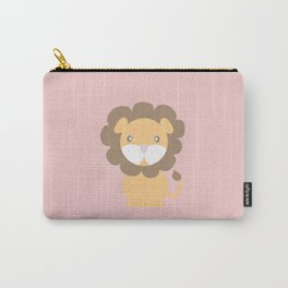 Lion - Pink Carry-All Pouch