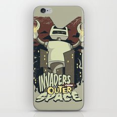 Invaders from outer space iPhone & iPod Skin