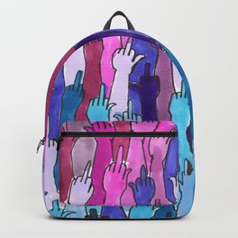 angry bisexual Backpack