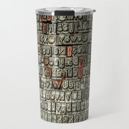Letters Travel Mug