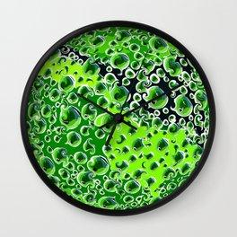 Life in a Petri Dish Wall Clock