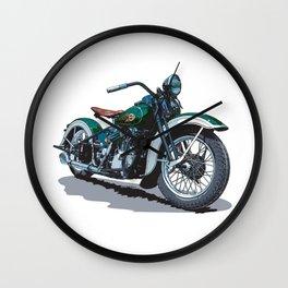 Green Knucklehead Wall Clock
