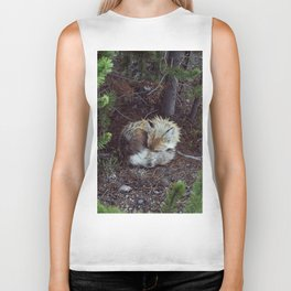 Sleeping Fox Biker Tank
