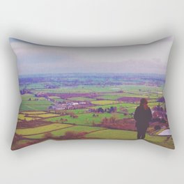 Wandering Britain Rectangular Pillow