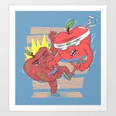 Eat this ! Art Print