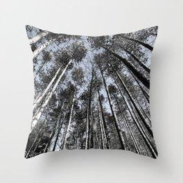 Tall Oaks Throw Pillow
