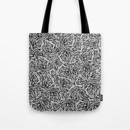 Infinite Snake Pattern Tote Bag