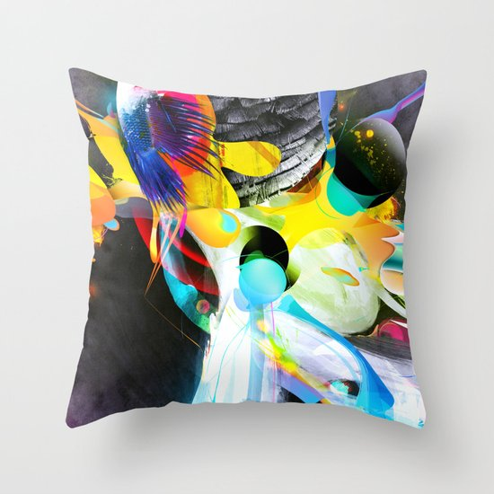 Vivid Reflections Throw Pillow