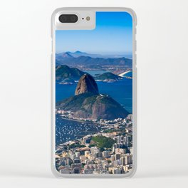 Rio de Janeiro Clear iPhone Case