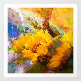 Sunflower 2018 Art Print