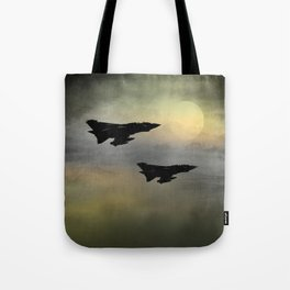 Tornadoes at Dawn Tote Bag