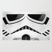 stormtrooper Area & Throw Rugs featuring stormtrooper by designoMatt