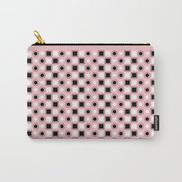 Circles and Squares Target - Pink Carry-All Pouch