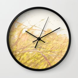 Summer Afternoon Wall Clock