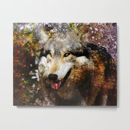 Wolf Art Metal Print
