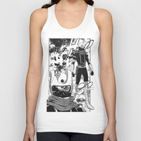 manga Tank Tops featuring Manga 04 by Zuno