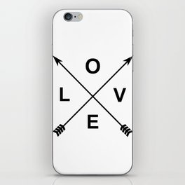 Love and Arrows iPhone Skin