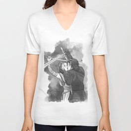 Sparring Kiss Unisex V-Neck