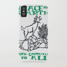 Peace on earth 2014 II iPhone X Slim Case
