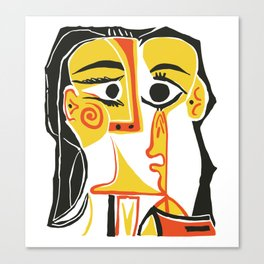Picasso - Woman's head #2 Canvas Print