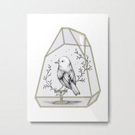 Little Companion Metal Print