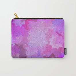 Nine Pointed Star - Pink Carry-All Pouch