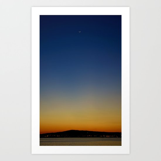 San Pedro Twilight Art Print