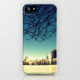Frozen shadows iPhone Case