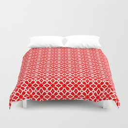 Candy Cane Pattern 2 Duvet Cover