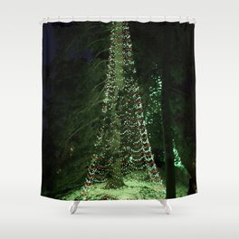 Longwood Gardens Christmas Series 46 Shower Curtain