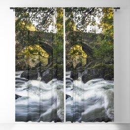 River Llugwy Blackout Curtain