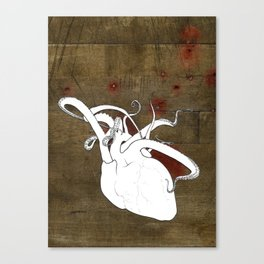 The Reaching Heart Canvas Print