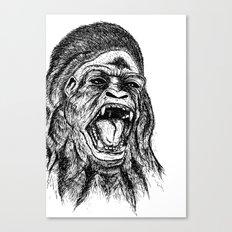 UnMonoLoco. Canvas Print