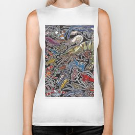 Prawns, gambas and shrimps for ocean lovers, marine biologists and scuba divers Biker Tank