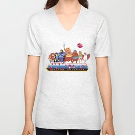 Hamsters Of The Universe Unisex V-Neck