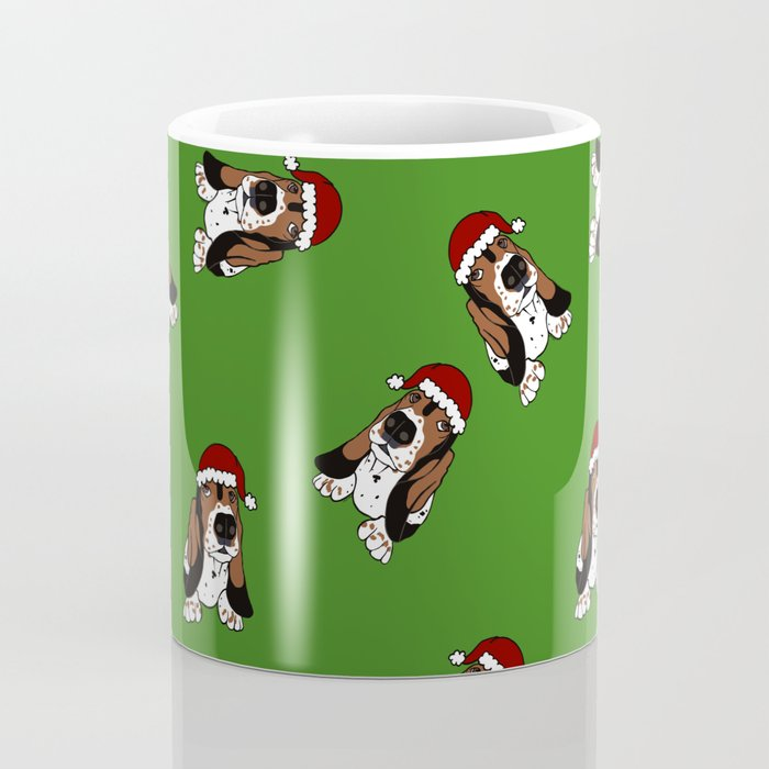 A Basset Full of Christmas Coffee Mug