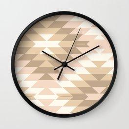 San Pedro in Tan Wall Clock