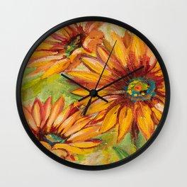 Flower love Wall Clock