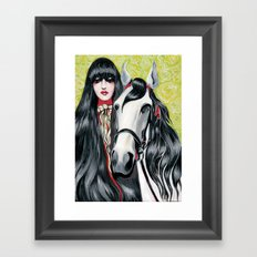 Arabian Horse Framed Art Print
